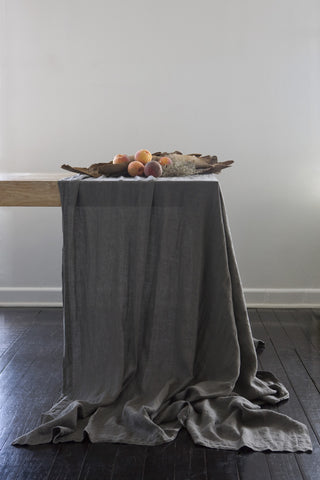 Avignon Washed Linen Tablecloth