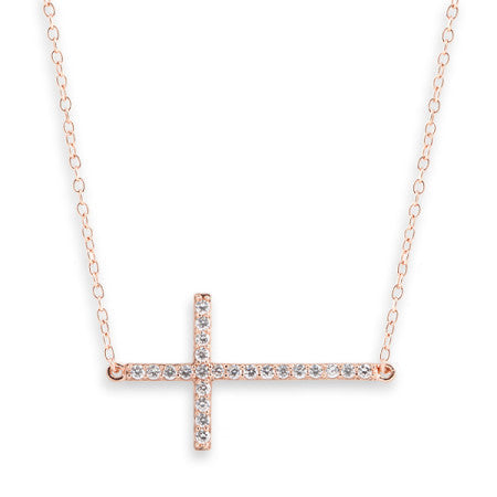 Cross Necklace & Bracelet