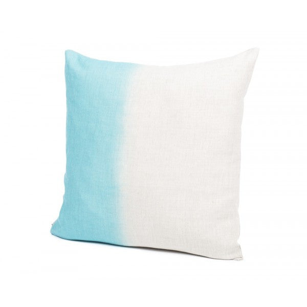 Tie Dye Cushion Cover - Aqua