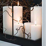 White Pillar  Candle Collection - Unscented