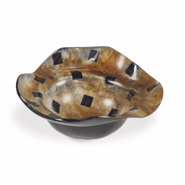 Polished Horn Bowl