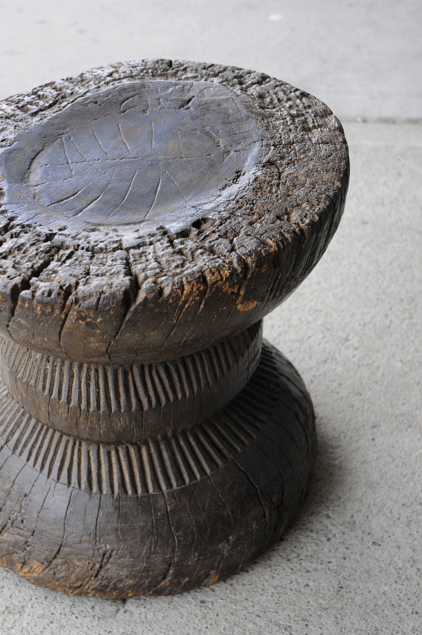 Indian Carved Stool