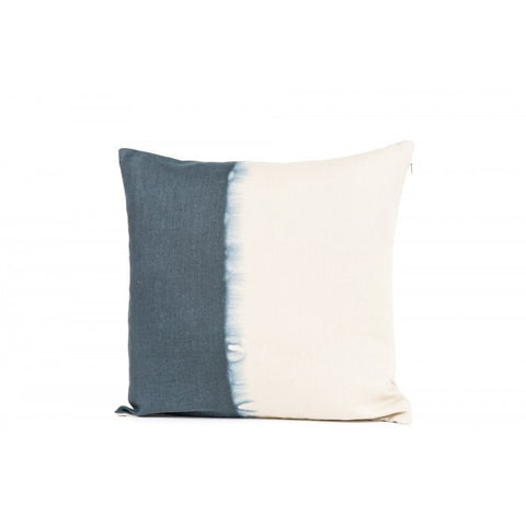 Tie Dye Cushion Cover - Indigo