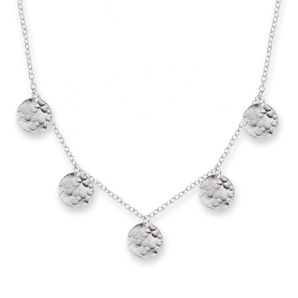 Silver Single Jingle Necklace