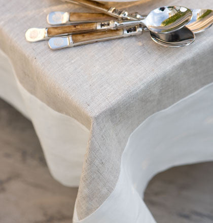 tablecloth-moderna-140cmx180cm-rope trim/ivory inside