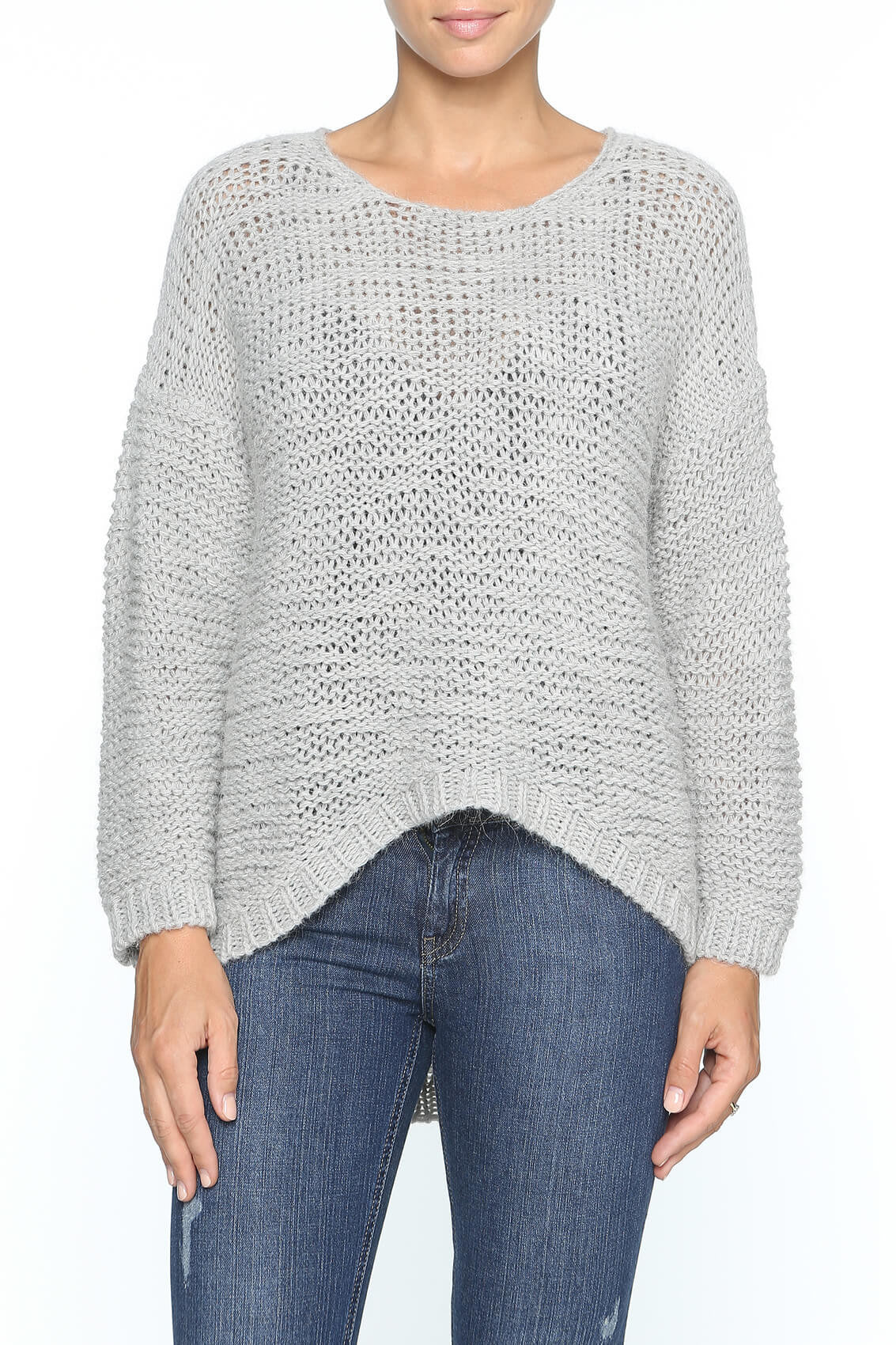 Moda Immagine Round Neck Knit