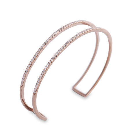 Rose Gold Double Bracelet