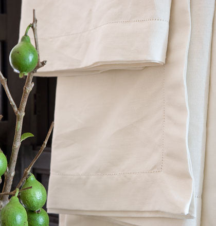 Tablecloth- Sienna- 180cm x 350cm Natural Ivory