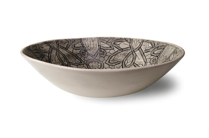 Wonki Ware Salad Bowl (Small) - Black Lace