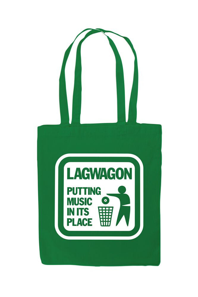 Putting Music Tote Bag