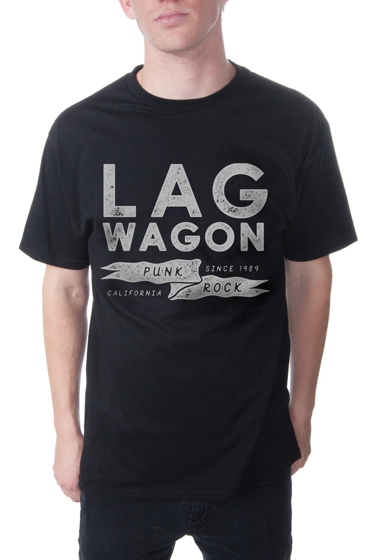 Lagwagon Flag Tee Black