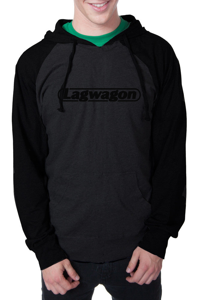 Lagwagon Putting Music Pullover Hoodie Heather Charcoal / Black