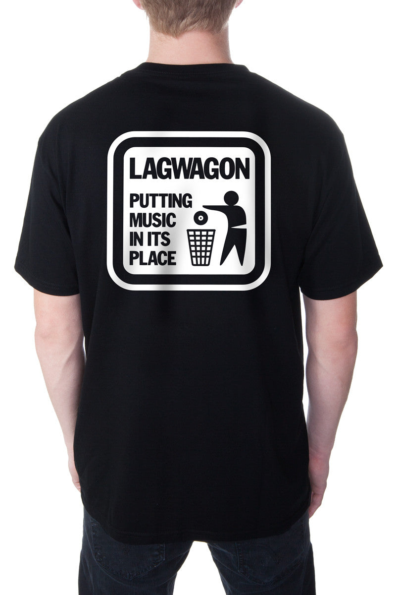 Lagwagon Putting Music Tee Black