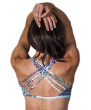 Funky Diva strappy bra top - back view
