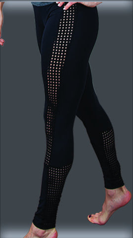 #0299T Dancetech Side Mesh Legging
