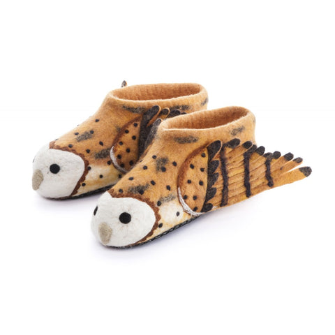 Barny Owl -  Adult Slippers