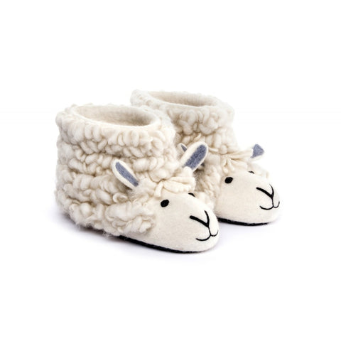 Sherry Sheep Adult Slippers - Design Withdrawals - Design Withdrawals
