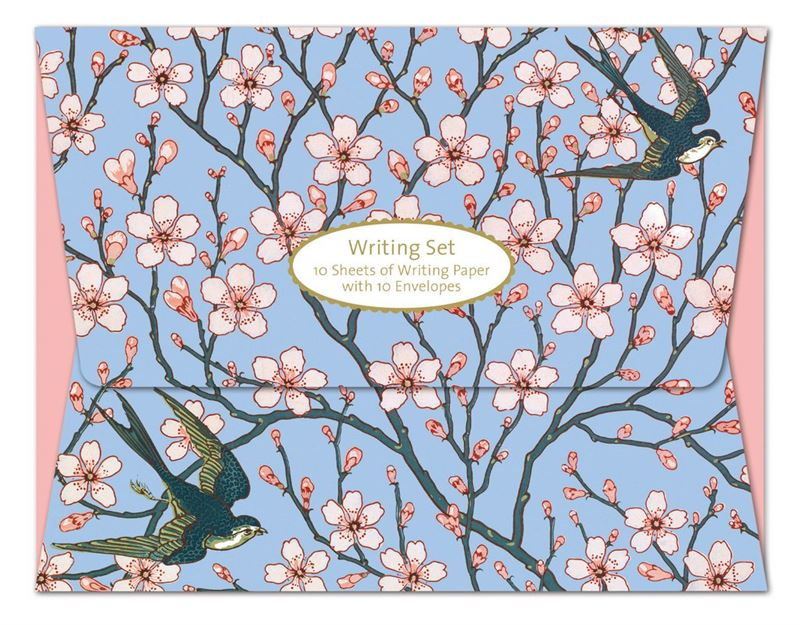 Almond Blossom And Swallow - Writing Set