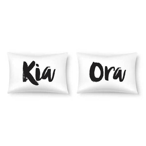 Double Pillowcase - Kia Ora
