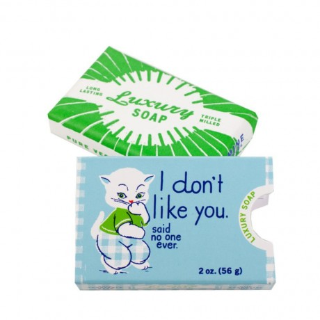 I don't like you - Luxury Soap - BlueQ - Design Withdrawals