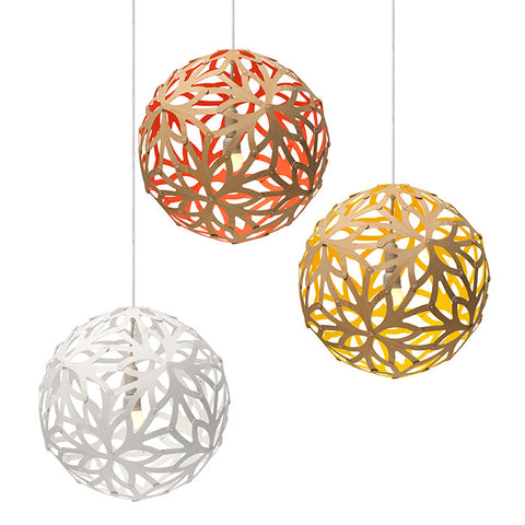 David Trubridge - Floral Pendant Light