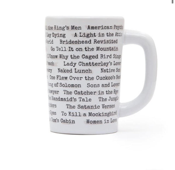 Mug - Banned Books Heat Reactive
