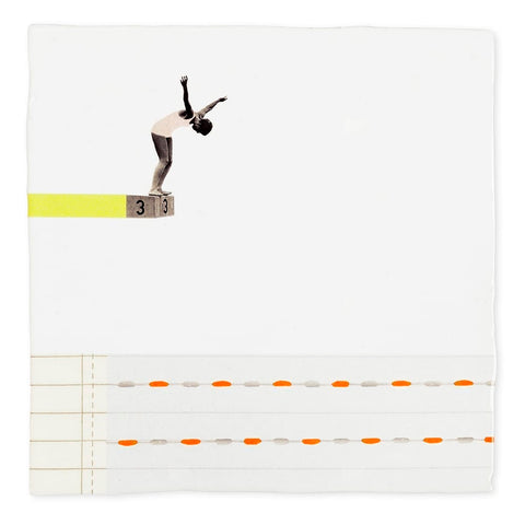 A Leap of Faith Ceramic Tile