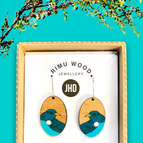 Tui Rimu Earrings