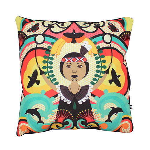Homegrown Aroha Cushion Cover - DQ&co - Design Withdrawals