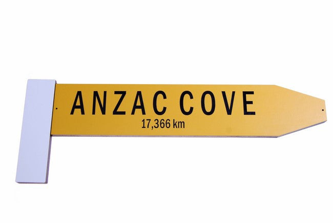 Give Me a Big Sign  - ANZAC Cove - Ian Blackwell - Design Withdrawals