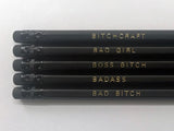 Bitchcraft pencils by Black Batch
