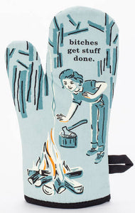 Oven Mitt - Bitches Get Stuff Done - BlueQ - Design Withdrawals