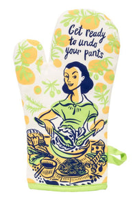 Undo Your Pants Oven Mitt