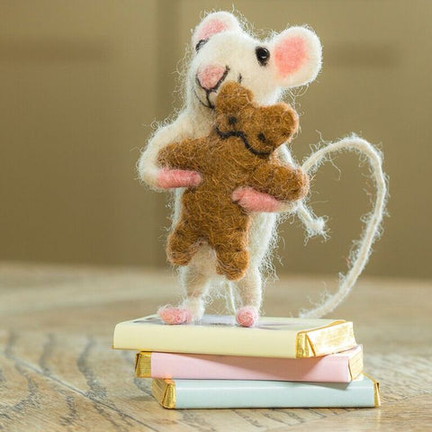 Baby Mouse with Bear