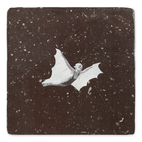 Bat Girl Ceramic Tile
