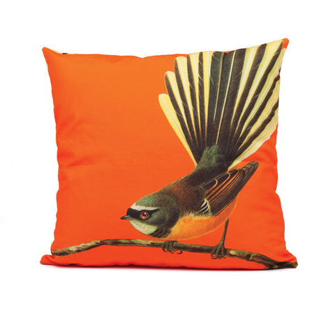 Bright Fantail Cushion Cover - Design Withdrawals - Design Withdrawals