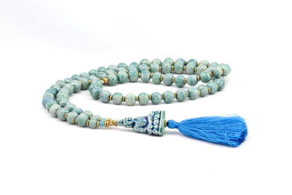 Buddha Silk Necklace By Claycult
