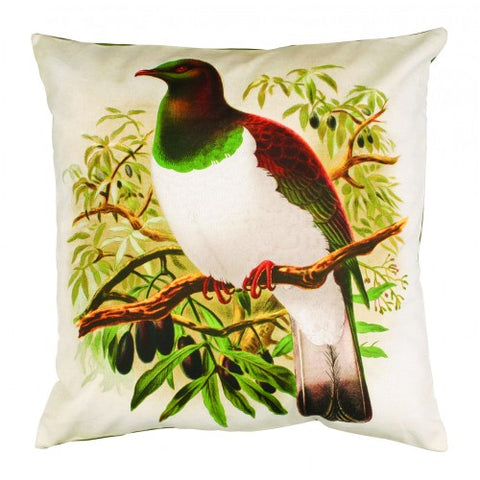 Wood Pigeon Cushion Cover - Design Withdrawals - Design Withdrawals