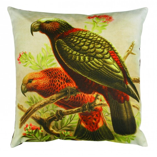 Kaka Parrot Cushion Cover - Design Withdrawals - Design Withdrawals