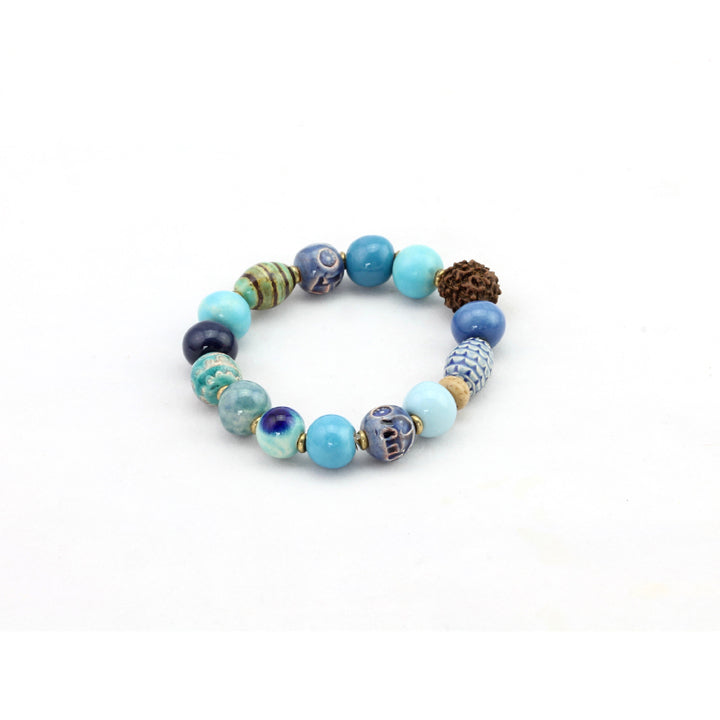Persia Bracelet - Blue - Design Withdrawals - Design Withdrawals