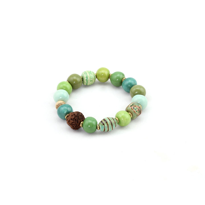 Persia Bracelet - Green - Design Withdrawals - Design Withdrawals