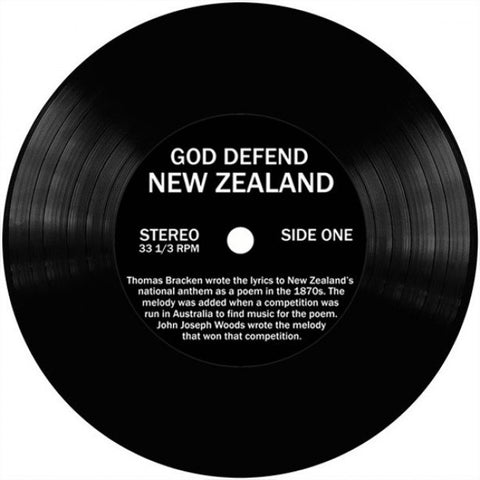 New Zealand Song Coasters