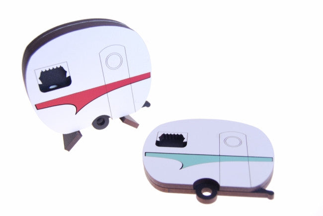 Coloured Coasters Caravan