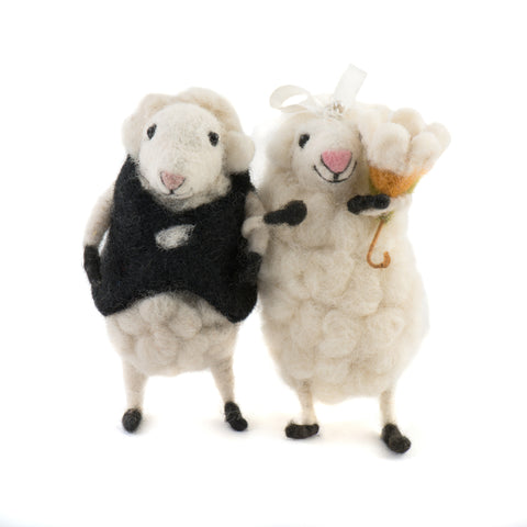 Bride and Groom Sheep