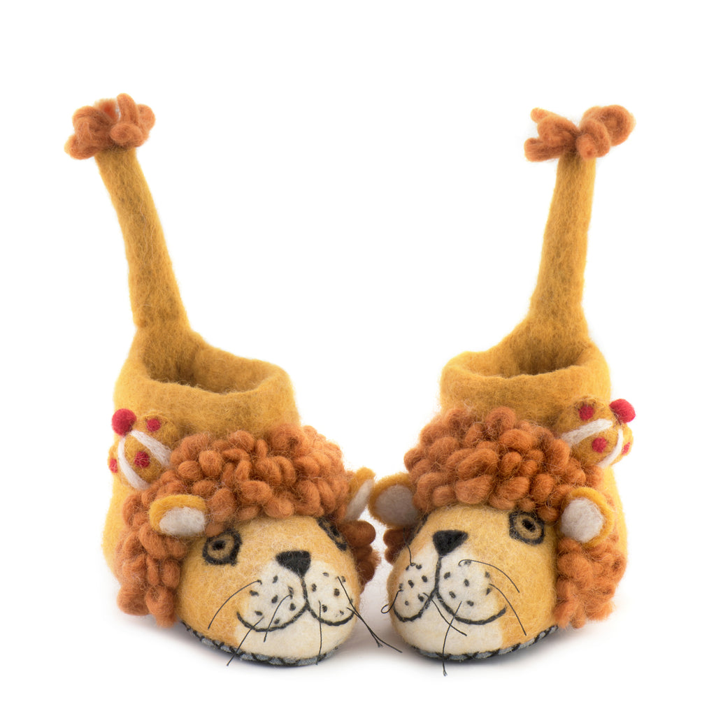 Leopold Lion Children Slippers