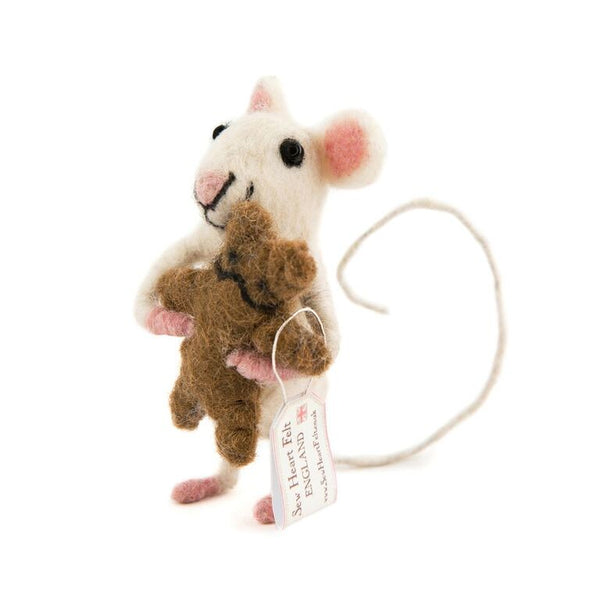 Baby Mouse with Bear - Design Withdrawals - Design Withdrawals