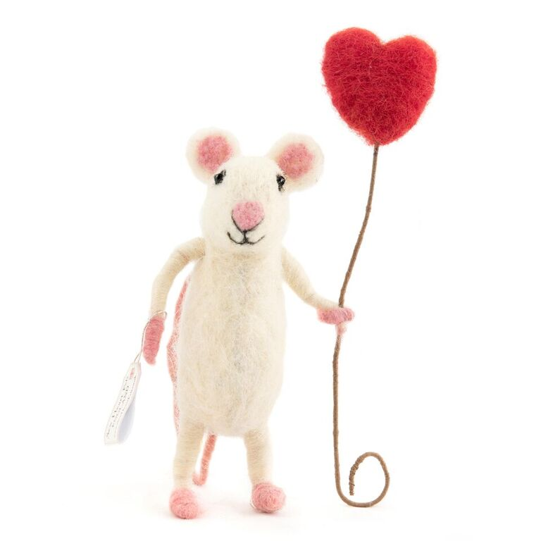 Happy of Heart Balloon Mouse - Design Withdrawals - Design Withdrawals