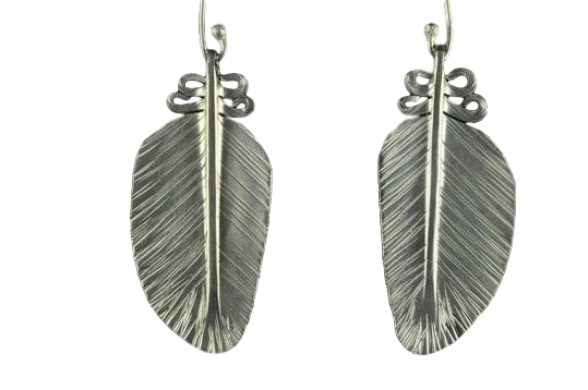 Kereru Feather Earrings