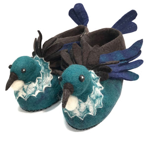 Tui Hand Felted Woollen Slippers