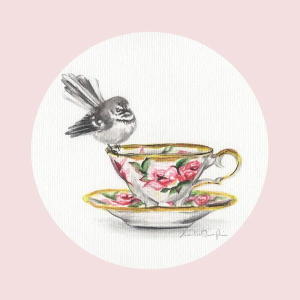Fantail Rose - Greeting Card - Melissa Sharplin - Design Withdrawals